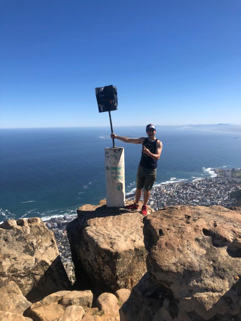 Lion's rock, Cape Town