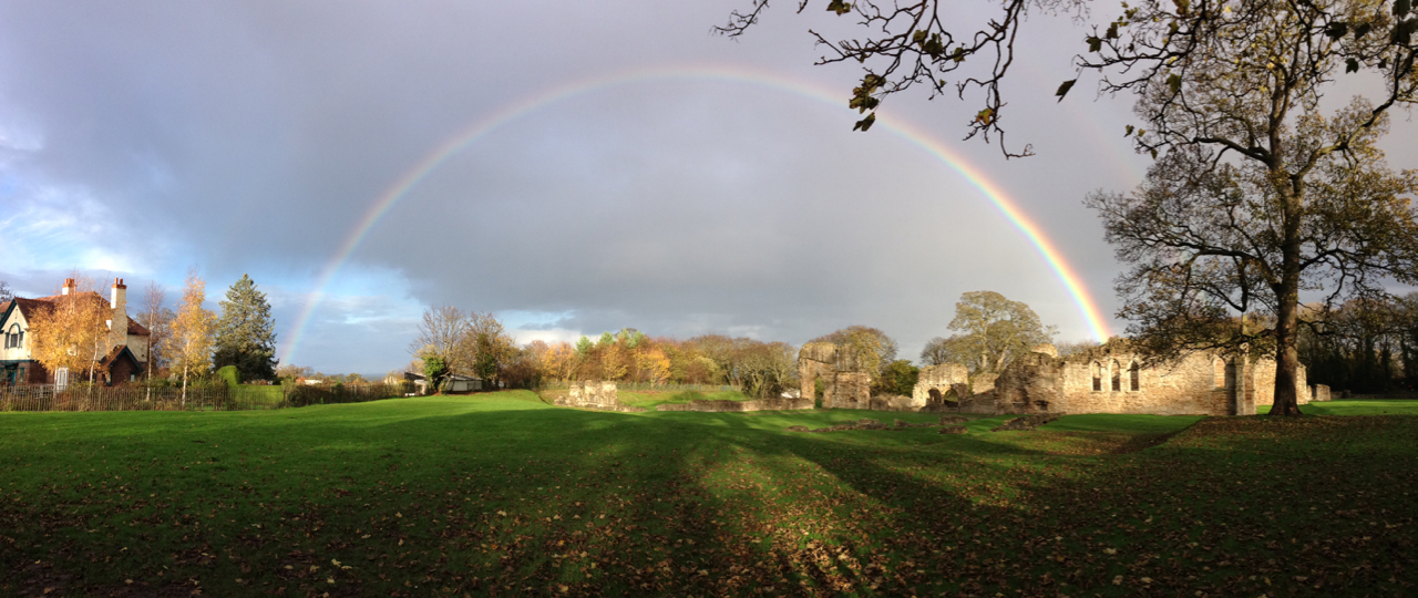 Rainbow at the Abbey