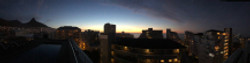 Cape Town hotel view