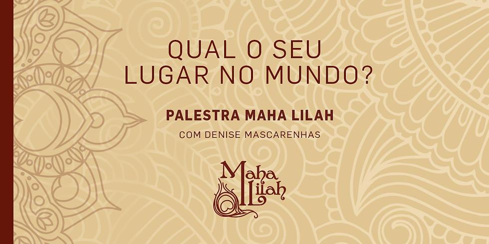 PALESTRA MAHA LILAH RIO DE JANEIRO