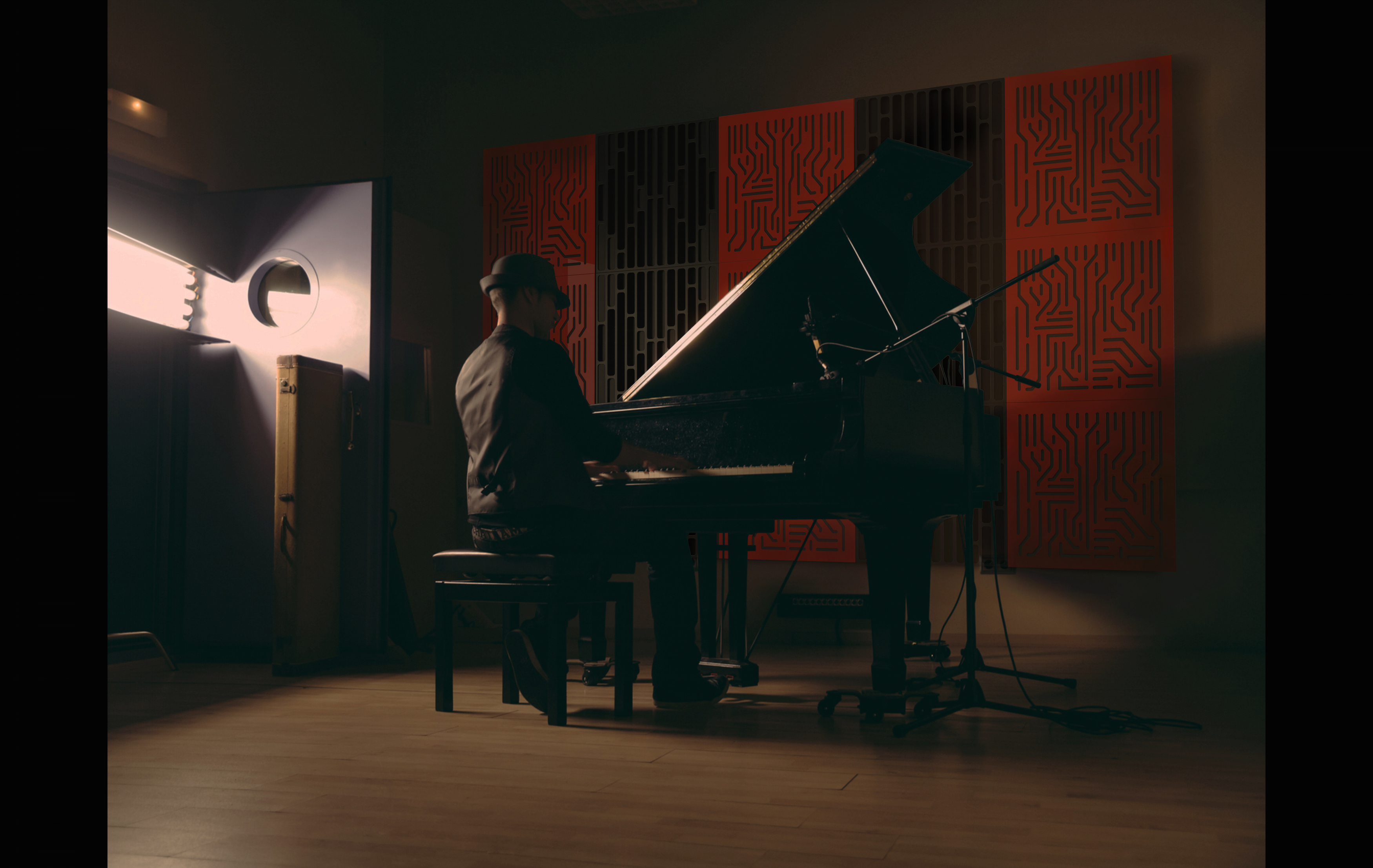 Piano Recording Room
