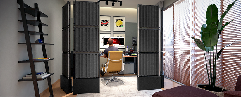 portable acoustic panels, portable sound absorbing panels, freestanding acoustic panels, portable acoustic treatment panels,