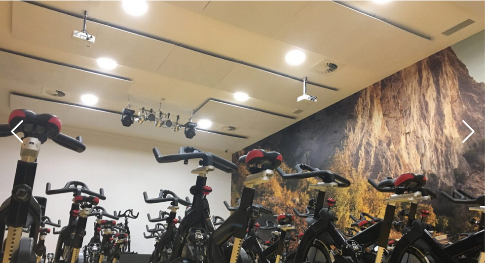 Bike gym room