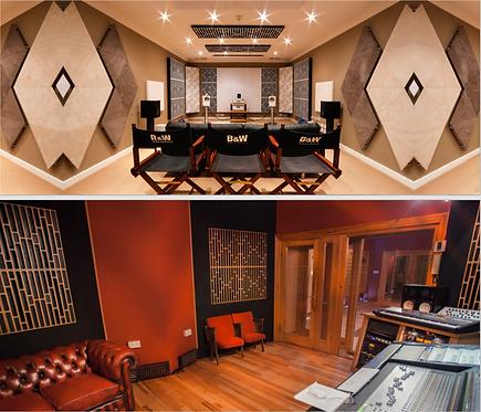 Artnovion Lugano Wood Diffuser, Recording Studios, diffusers australia, artnovion diffusers, diffusers brisbane,