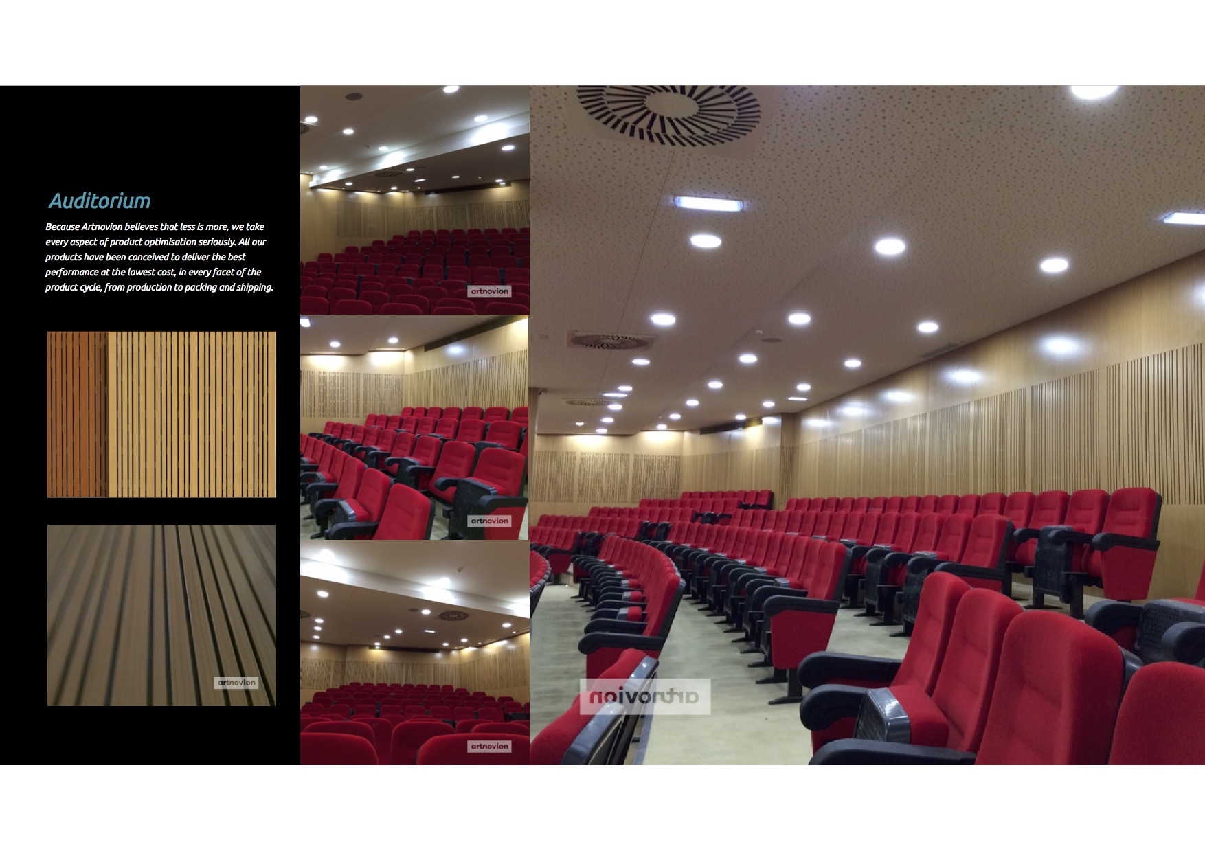 St Peter Auditorium project
