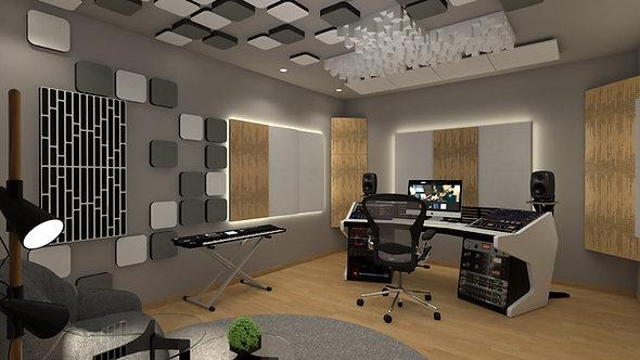 Myriad F Absorber, Home theatre absorbers, hi-fi room acoustic panels, artnovion absorbers, sound absorbers, sound panels,