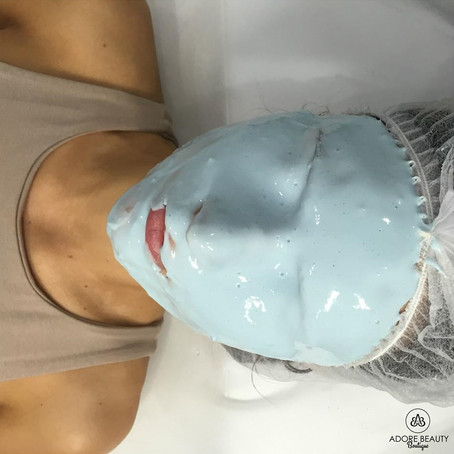 OXYGEN ENZYME PEEL, ADORE BROWS & SKIN