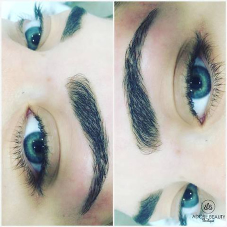FEATHER TOUCH BROWS, ADORE BROWS & SKIN