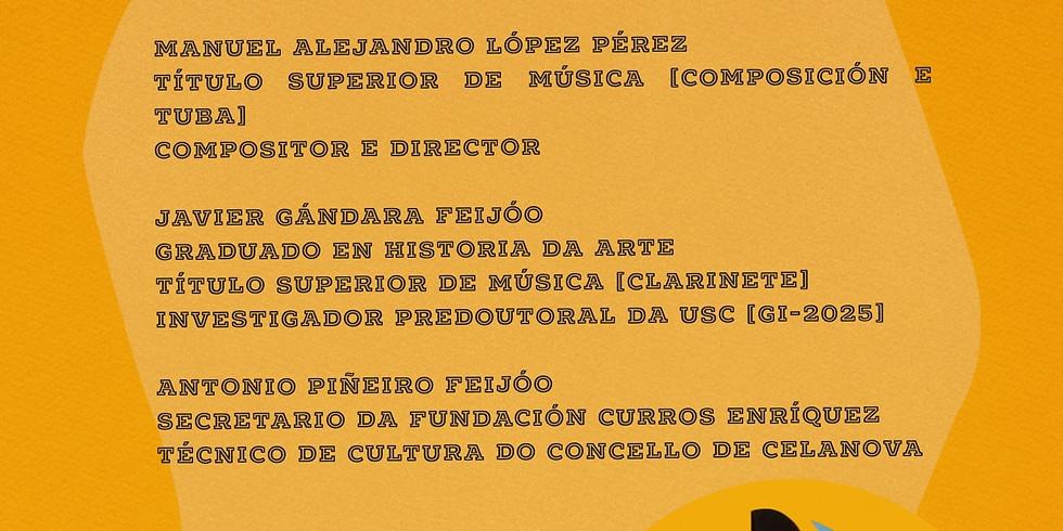 Conferencia   M. Curros Enríquez