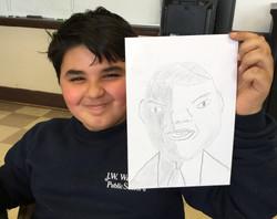 11x PS 6 portrait grinning boy