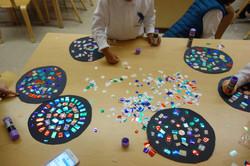 7x PS 770 mosaic at work kindergarten