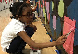 6xx PS 770 mural painting in action