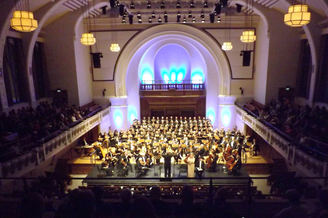 The magnificent Cadogan Hall, where Thames Philharmonic Choir will be singing Mozart Requiem on 10 March