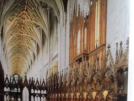SOUTH LONDON CHOIR SINGS IN WINCHESTER CATHEDRAL