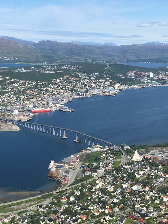 Day 84 + 2......Tromsø.......6,988 km