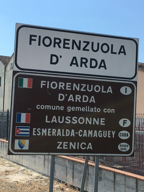 Day 23 Piacenza to Fornovo Di Taro