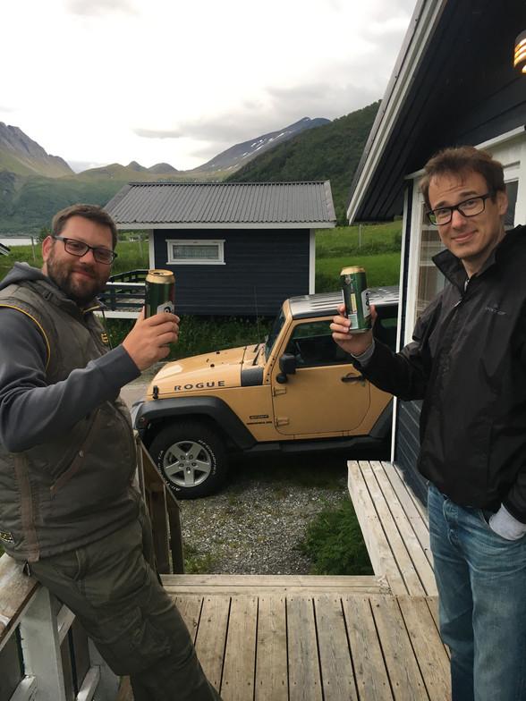 Day 72 .......Vassdalsvik to Saltstraumen.......92 km .....(total 5,945 km)