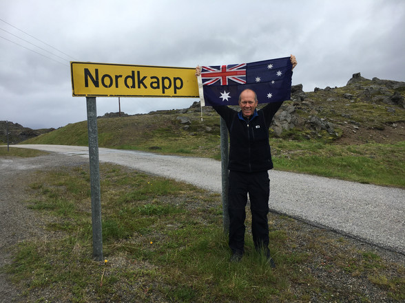 Day 84 + 1 ........Honningsvåg to Tromso .......6,988 km