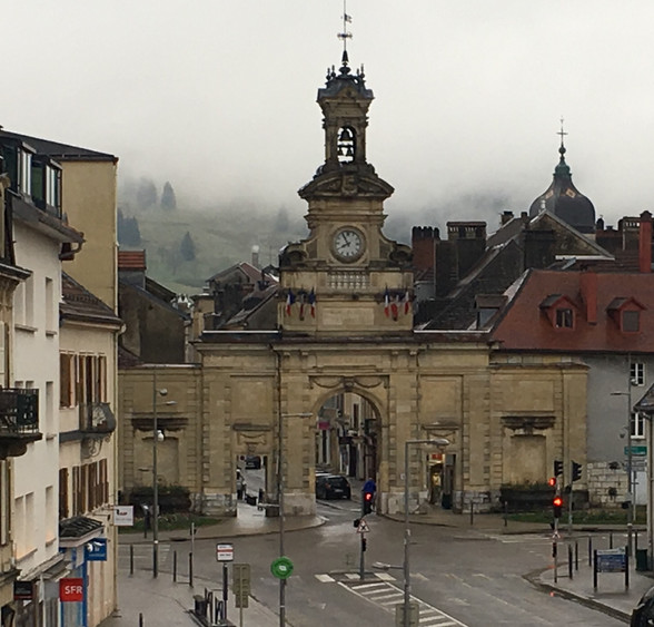 Day 14 Pontarlier to Lausanne