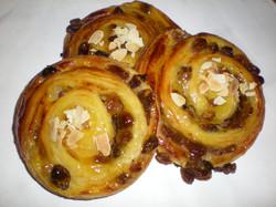 Escargot aux raisins
