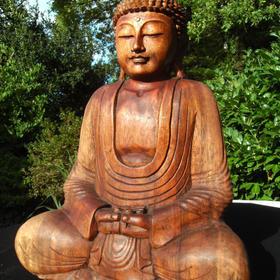 Buddha aus Suarholz