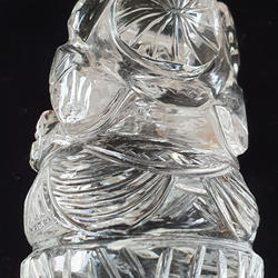 Bergkristallganesha Rückseite