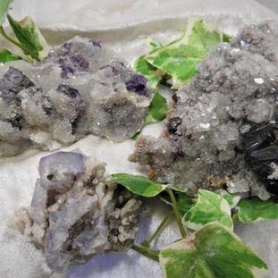 Flouritgruppen lilafarben