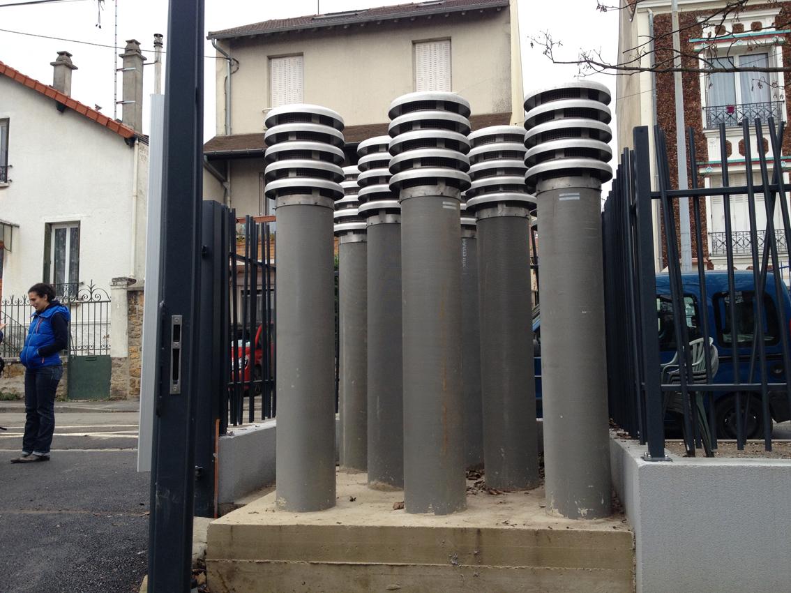 Les sorties de ventilation