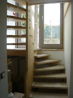 Escalier sur l'entrée