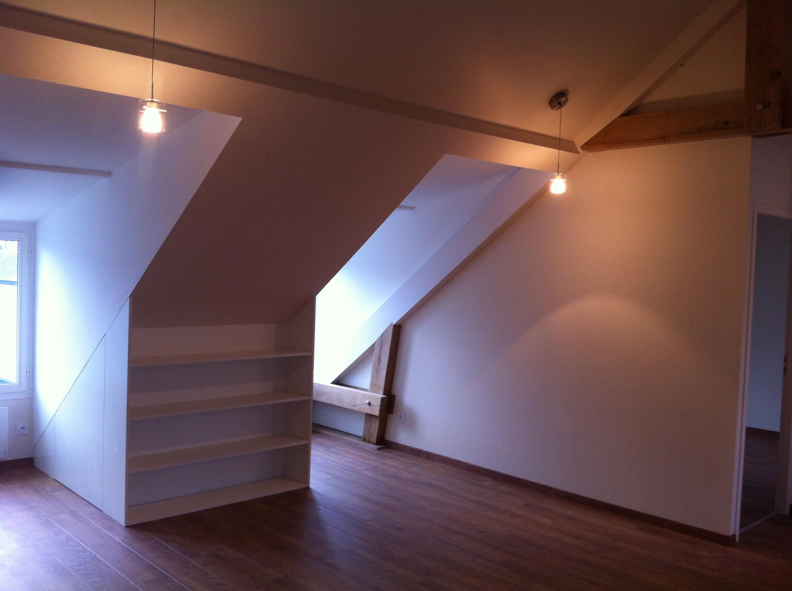 Aménagements sous les toits