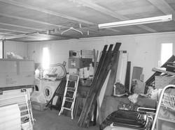 garage existant (futur salon)