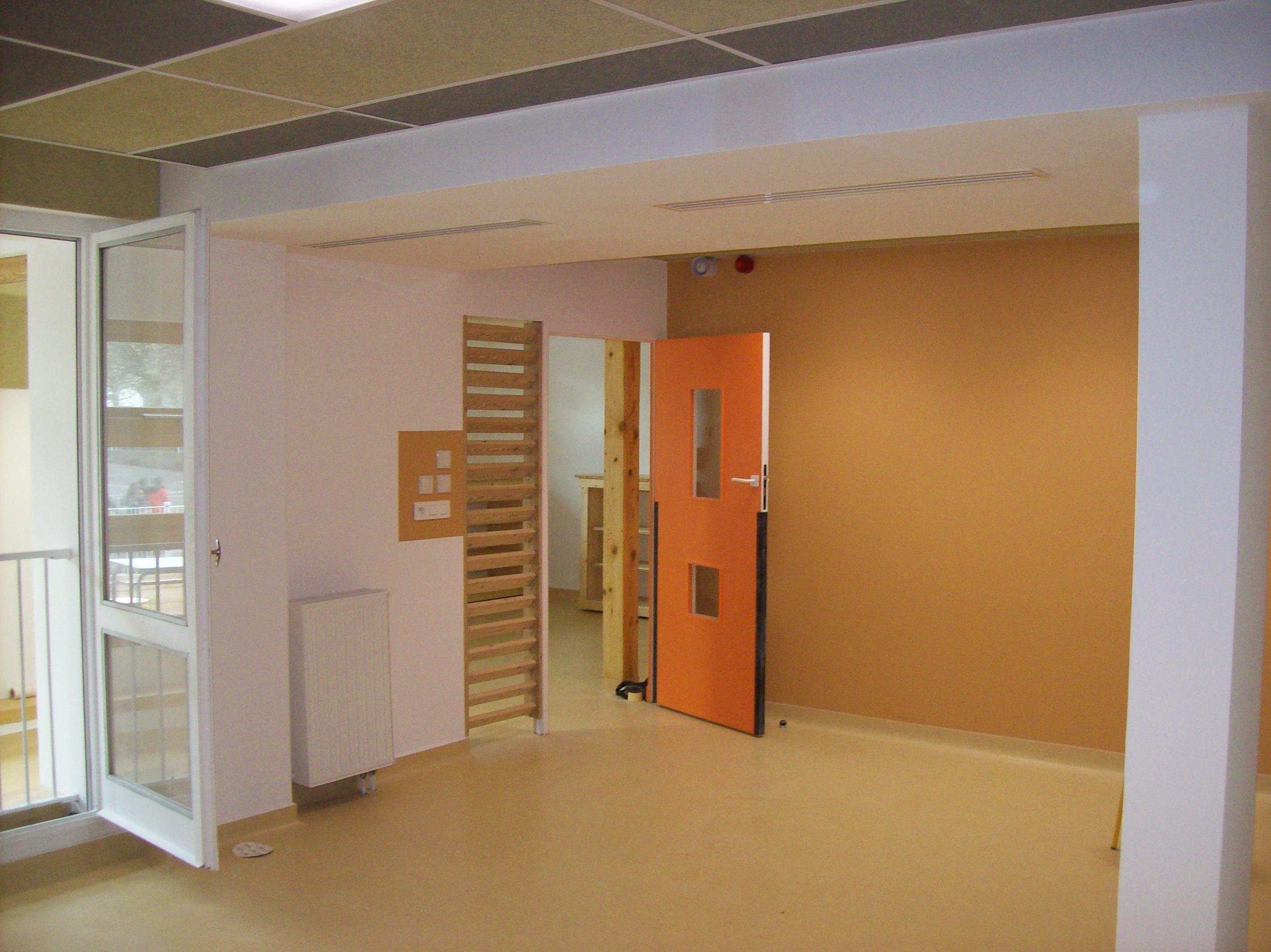 vue intérieure salle/circulation