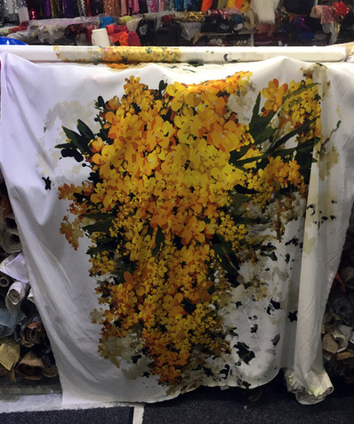 BTS fabric