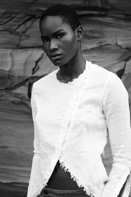 Zainab Ikkro  masculine model by ale fruscella