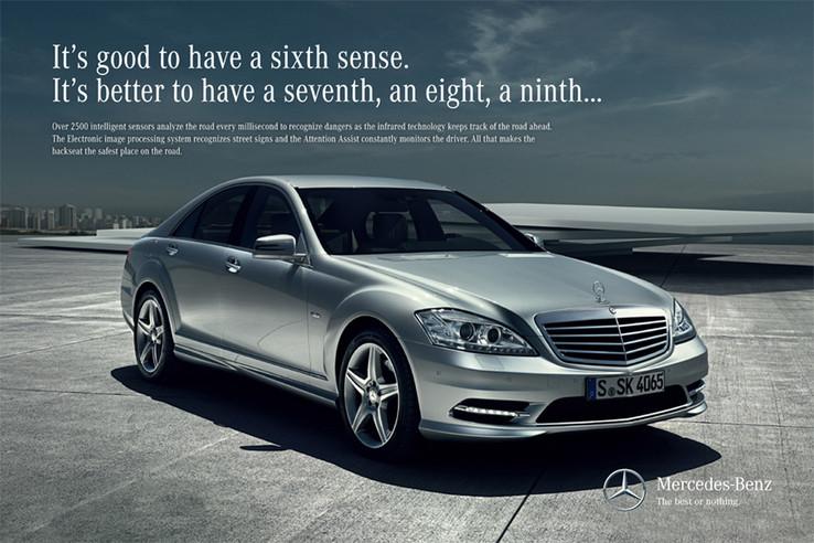 Mercedes-Benz print International S Class