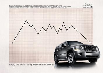 Jeep Patriot. European Campaign.