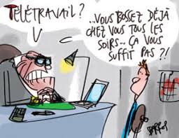 Télétravail, on se pose la question