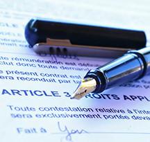 Contrat CDD Palatine