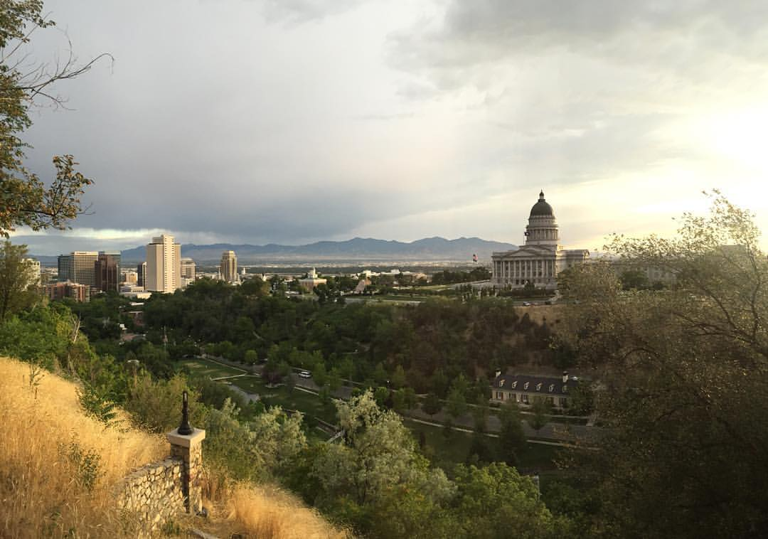 SLC Avenues Capitol Skyline View