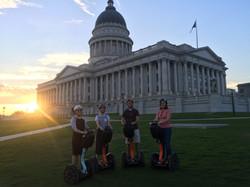 Segway Tour Utah State Capitol