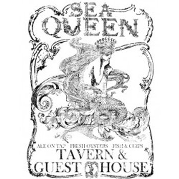 "Sea Queen Transfer..Large..24""x33"""