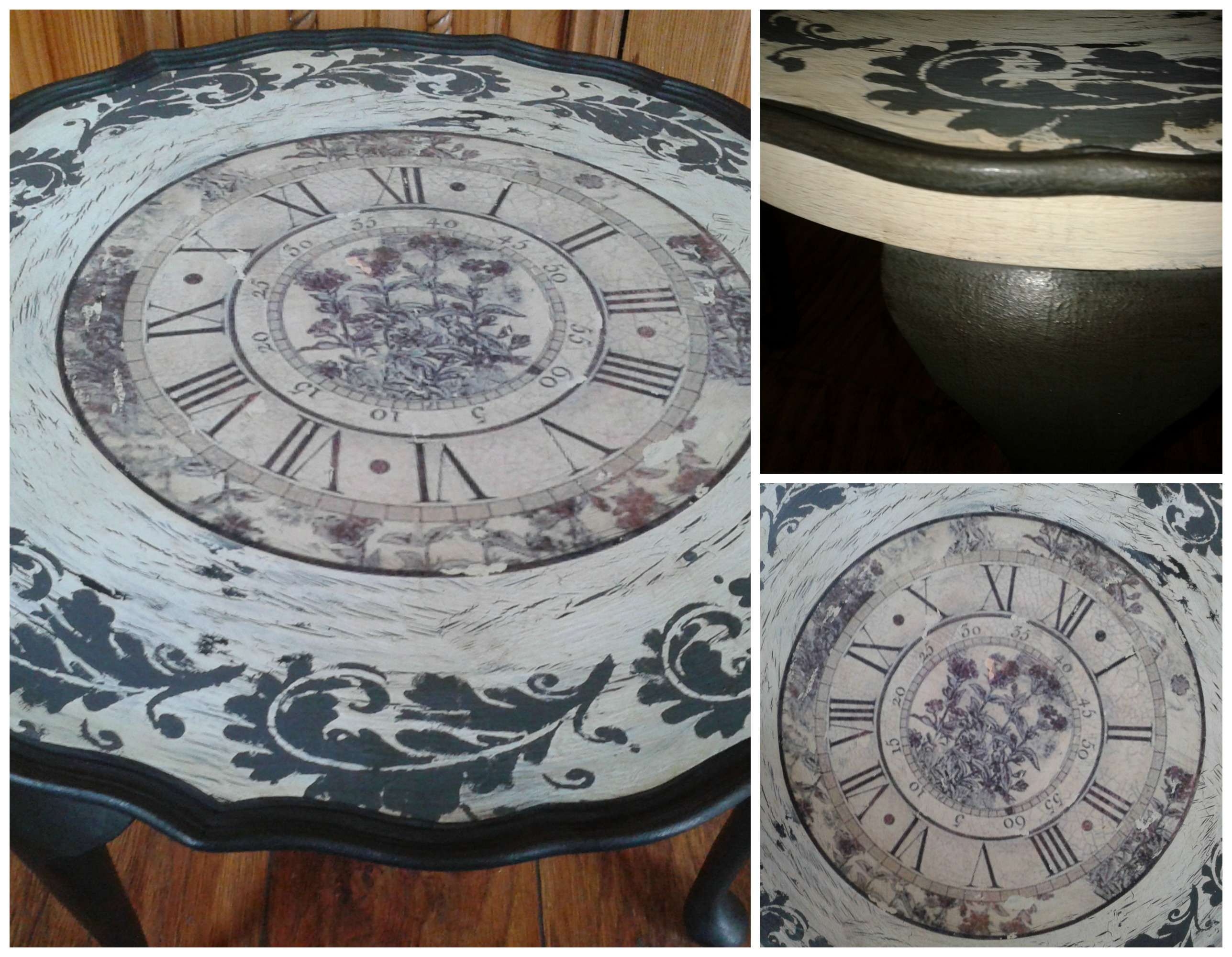 pie crust table with clock transfer detail.jpg