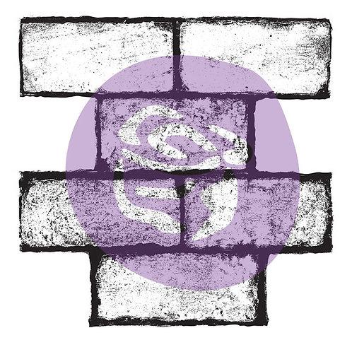 "Cobble stamp...12""x12"""