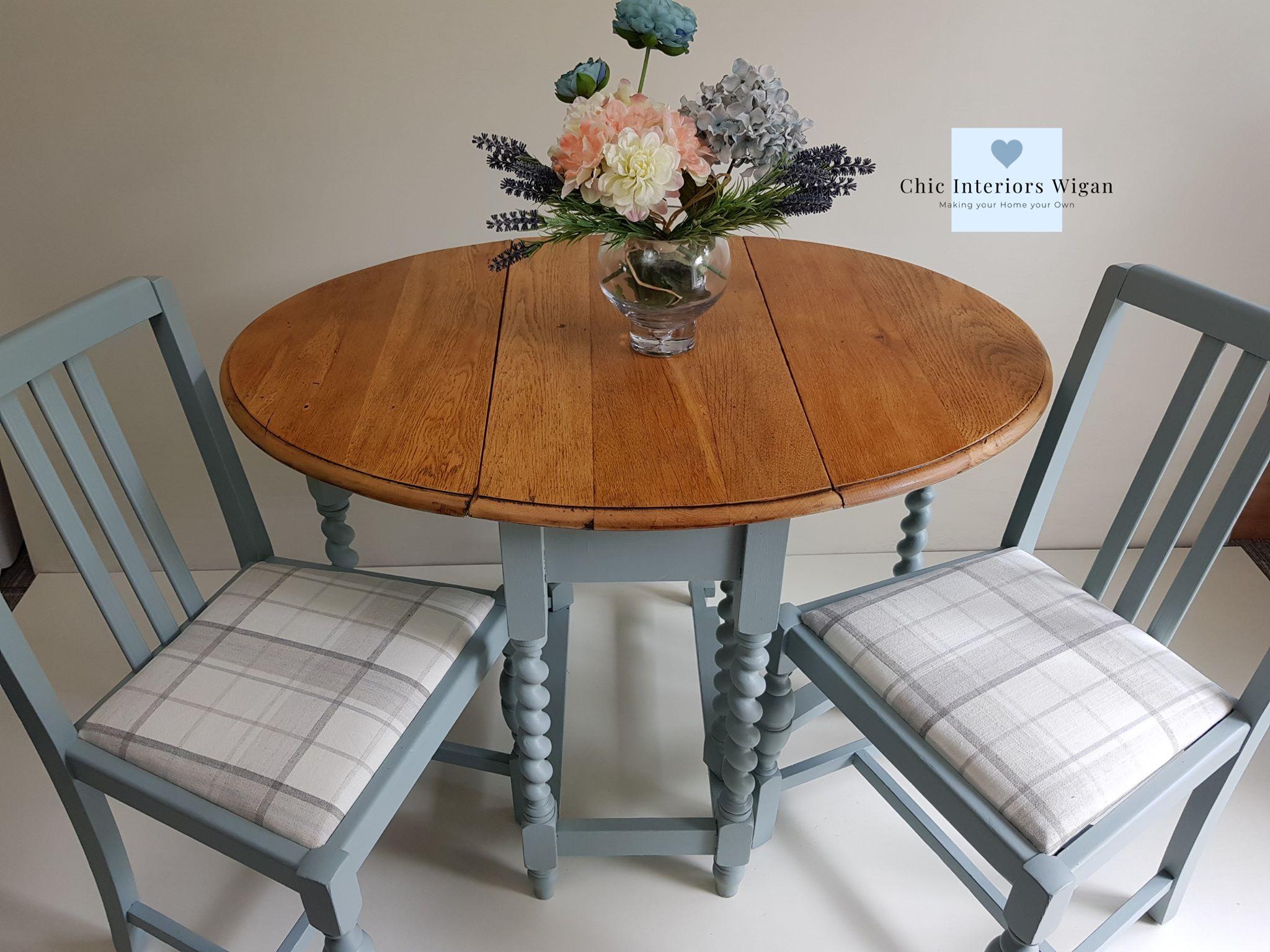 Gate leg table & chairs