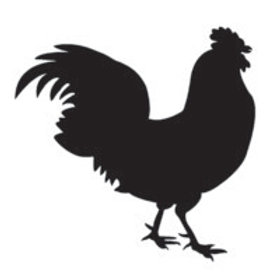 """Rooster Stencil 12"""" x 12"""""""