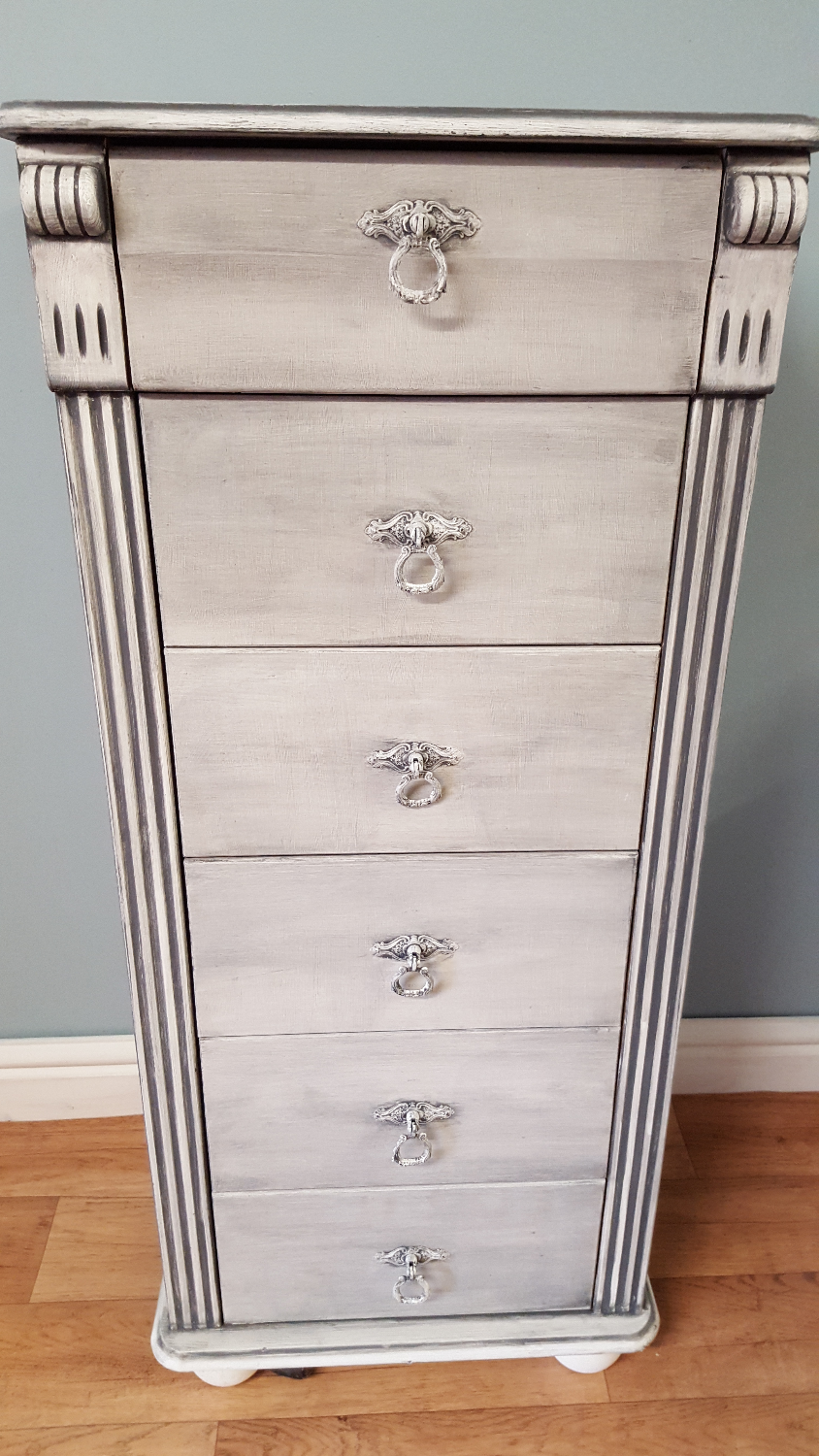 Tall Set of Drawers