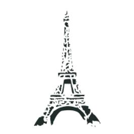 """Eiffel Tower...8""""x13"""""""