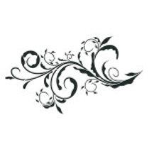 "Ornate Scroll...14.4""x9"""