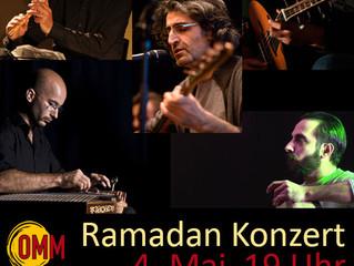 Ramadan-Konzert  4. Mai  19:00 Uhr