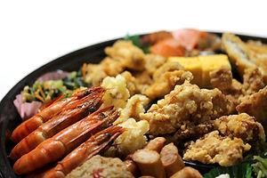 名古屋市中区の宅配弁当の八起のオードブル